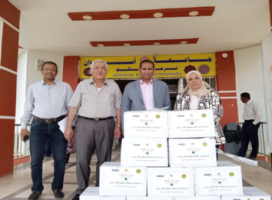 Aswan University Supplies its Irregular Employment with Food commodities Boxes