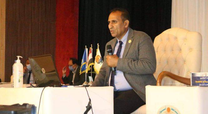 إصابة رئيس جامعة أسوان بفيروس كورونا المستجد